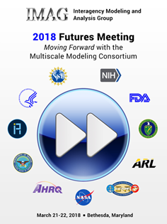 meeting logo with title, date and sponsoring agency logos including NIH, FDA, AHRQ, HHS, NASA