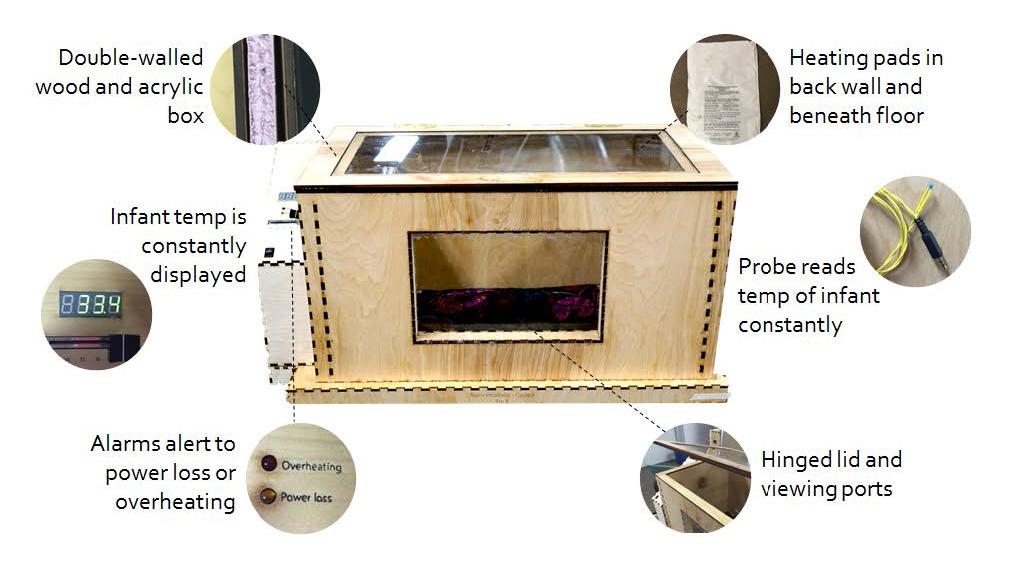 Image of low cost neonatal incubator
