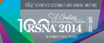 RSNA 2014 annual meeting logo