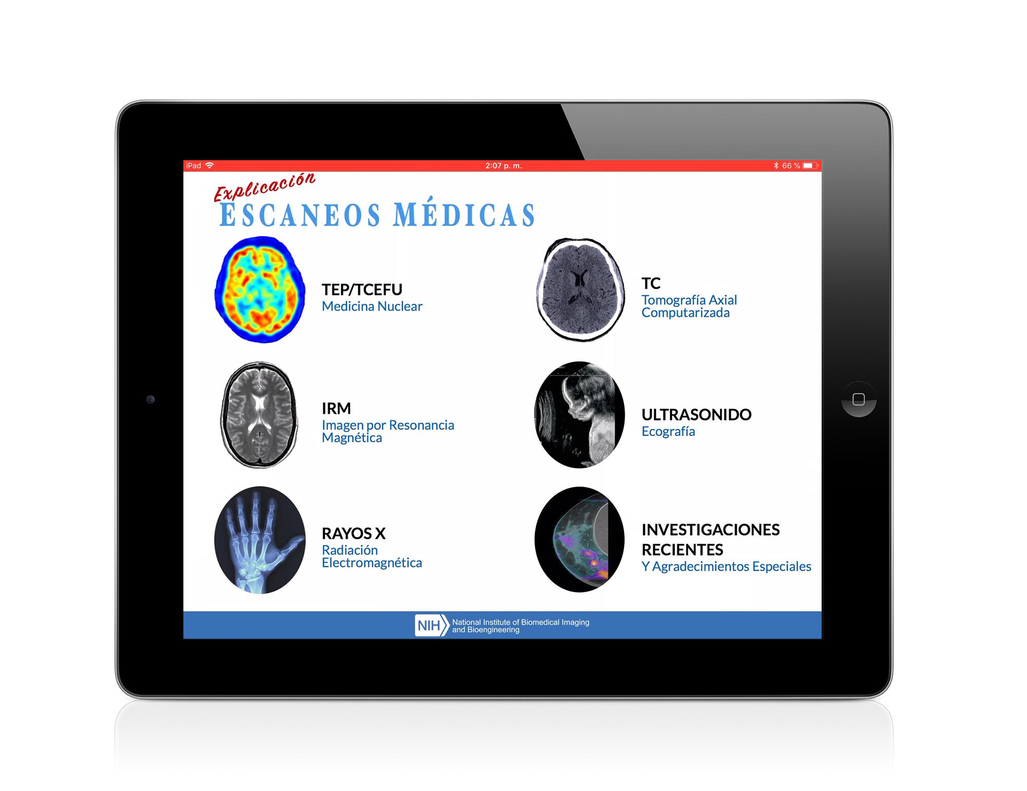 imagen del iPad App de Imágenes Médicas