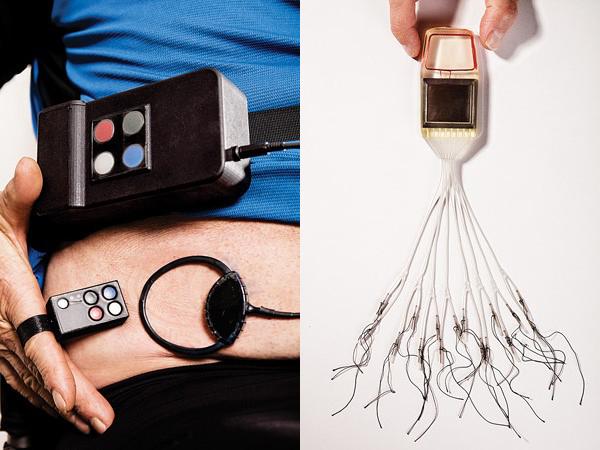 Electrodes and transponder for Team Cleveland system