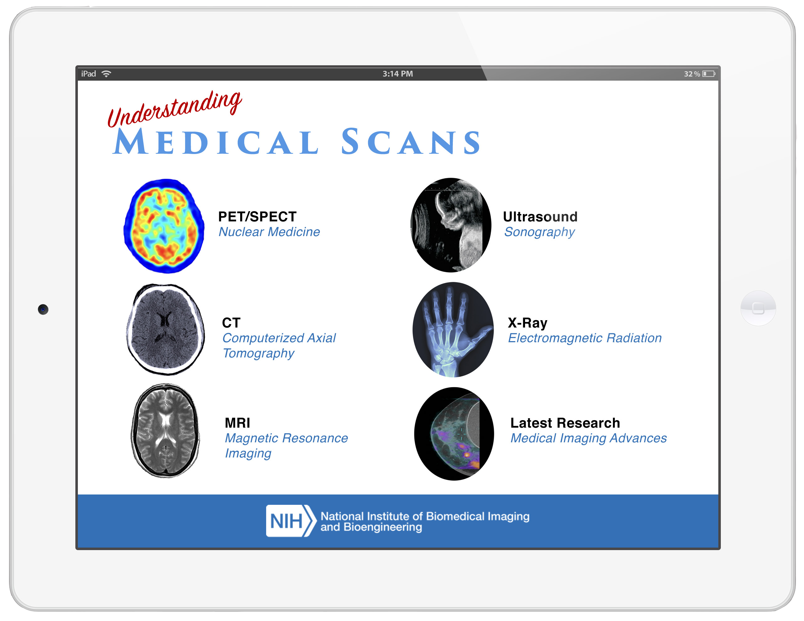 Understanding Medical Scans on an iPad
