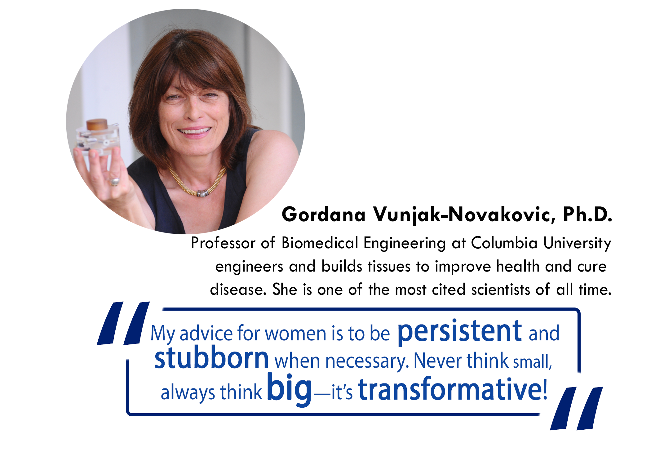 photo of Gordana Vunjak-Novakovic