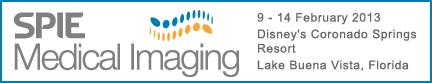 Banner for SPIE Medical Imaging Conference