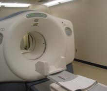 Photo of an MRI machine