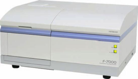 Fluorescence spectrometer (Hitachi F-7000)