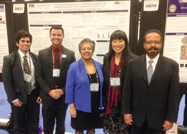 NIBIB team with grantee Ranu Jung